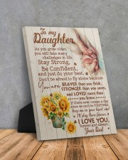 CV - DD0001 - GIFT FOR DAUGHTER FROM DAD 8x10 Easel-Back Gallery Wrapped Canvas aos-easel-back-canvas-pgw-8x10-lifestyle-front-08