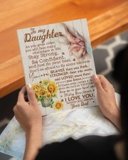CV - DD0001 - GIFT FOR DAUGHTER FROM DAD 8x10 Easel-Back Gallery Wrapped Canvas aos-easel-back-canvas-pgw-8x10-lifestyle-front-17