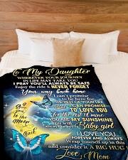 "DM003 Large Fleece Blanket - 60"" x 80"" aos-coral-fleece-blanket-60x80-lifestyle-front-02"