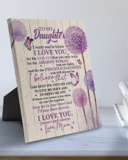 CV - DU0002 - GIFT FOR DAUGHTER FROM MUM 8x10 Easel-Back Gallery Wrapped Canvas aos-easel-back-canvas-pgw-8x10-lifestyle-front-01