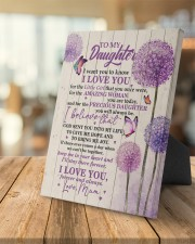 CV - DU0002 - GIFT FOR DAUGHTER FROM MUM 8x10 Easel-Back Gallery Wrapped Canvas aos-easel-back-canvas-pgw-8x10-lifestyle-front-04