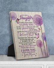 CV - DU0002 - GIFT FOR DAUGHTER FROM MUM 8x10 Easel-Back Gallery Wrapped Canvas aos-easel-back-canvas-pgw-8x10-lifestyle-front-06