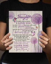 CV - DU0002 - GIFT FOR DAUGHTER FROM MUM 8x10 Easel-Back Gallery Wrapped Canvas aos-easel-back-canvas-pgw-8x10-lifestyle-front-16