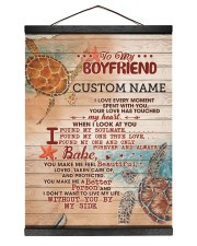BF0001 - GIFT FOR YOUR BOYFRIEND Hanging Canvas tile