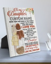 CV - DU0004 - GIFT FOR DAUGHTER FROM MUM 8x10 Easel-Back Gallery Wrapped Canvas aos-easel-back-canvas-pgw-8x10-lifestyle-front-01