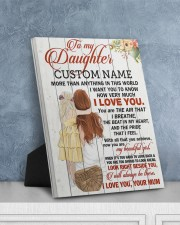 CV - DU0004 - GIFT FOR DAUGHTER FROM MUM 8x10 Easel-Back Gallery Wrapped Canvas aos-easel-back-canvas-pgw-8x10-lifestyle-front-06