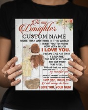 CV - DU0004 - GIFT FOR DAUGHTER FROM MUM 8x10 Easel-Back Gallery Wrapped Canvas aos-easel-back-canvas-pgw-8x10-lifestyle-front-16
