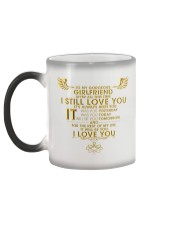 TO MY GIRLFRIEND Color Changing Mug color-changing-left