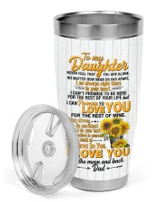 TUMBLER - DD0006 - GIFT FOR DAUGHTER FROM DAD 30oz Tumbler aos-30oz-tumbler-lifestyle-front-02