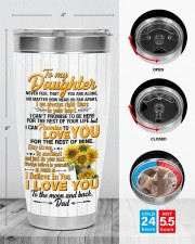 TUMBLER - DD0006 - GIFT FOR DAUGHTER FROM DAD 30oz Tumbler aos-30oz-tumbler-lifestyle-front-13