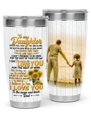 TUMBLER - DD0006 - GIFT FOR DAUGHTER FROM DAD 30oz Tumbler front