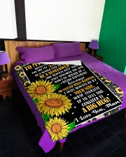 "DU001 Large Fleece Blanket - 60"" x 80"" aos-coral-fleece-blanket-60x80-lifestyle-front-01"