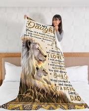 "DD019 Large Fleece Blanket - 60"" x 80"" aos-coral-fleece-blanket-60x80-lifestyle-front-11"