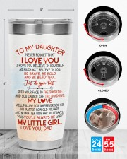 TUMBLER - DD0003 - GIFT FOR DAUGHTER FROM DAD 30oz Tumbler aos-30oz-tumbler-lifestyle-front-13