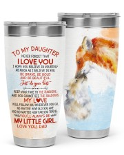 TUMBLER - DD0003 - GIFT FOR DAUGHTER FROM DAD 30oz Tumbler front