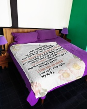 "GIFT FOR WIFE  Large Fleece Blanket - 60"" x 80"" aos-coral-fleece-blanket-60x80-lifestyle-front-01"