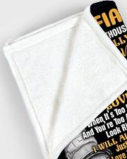 "BLANKET - FE0001 - GIFT FOR FIANCEE Large Fleece Blanket - 60"" x 80"" aos-coral-fleece-blanket-60x80-lifestyle-front-12"