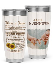 TUMBLER - LOVE0001 - GIFT FOR YOUR LOVE 30oz Tumbler front