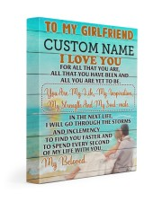 CV - GF0006 - GIFT FOR GIRLFRIEND Gallery Wrapped Canvas Prints tile