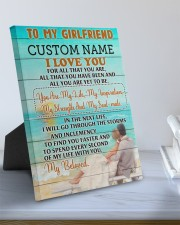 CV - GF0006 - GIFT FOR GIRLFRIEND 8x10 Easel-Back Gallery Wrapped Canvas aos-easel-back-canvas-pgw-8x10-lifestyle-front-01