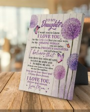 CV - DM0002 - GIFT FOR DAUGHTER FROM MOM 8x10 Easel-Back Gallery Wrapped Canvas aos-easel-back-canvas-pgw-8x10-lifestyle-front-04