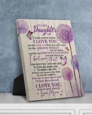 CV - DM0002 - GIFT FOR DAUGHTER FROM MOM 8x10 Easel-Back Gallery Wrapped Canvas aos-easel-back-canvas-pgw-8x10-lifestyle-front-06