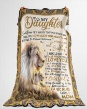 "DM004  Large Fleece Blanket - 60"" x 80"" aos-coral-fleece-blanket-60x80-lifestyle-front-10"