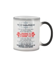 TO MY GIRLFRIEND-I TAKE YOU TO BE MY BEST FRIEND Color Changing Mug color-changing-right