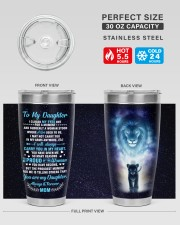 TUMBLER - DM0001 - GIFT FOR DAUGHTER FROM MOM 30oz Tumbler aos-30oz-tumbler-lifestyle-front-01