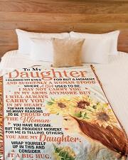 "DU006  Large Fleece Blanket - 60"" x 80"" aos-coral-fleece-blanket-60x80-lifestyle-front-02"