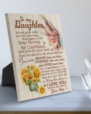 CV - DM0001 - GIFT FOR DAUGHTER FROM MOM 8x10 Easel-Back Gallery Wrapped Canvas aos-easel-back-canvas-pgw-8x10-lifestyle-front-01