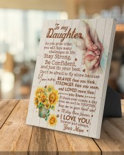 CV - DM0001 - GIFT FOR DAUGHTER FROM MOM 8x10 Easel-Back Gallery Wrapped Canvas aos-easel-back-canvas-pgw-8x10-lifestyle-front-04