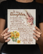 CV - DM0001 - GIFT FOR DAUGHTER FROM MOM 8x10 Easel-Back Gallery Wrapped Canvas aos-easel-back-canvas-pgw-8x10-lifestyle-front-16