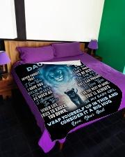 "DD013 Large Fleece Blanket - 60"" x 80"" aos-coral-fleece-blanket-60x80-lifestyle-front-01"