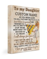 CV - DM0003 - GIFT FOR DAUGHTER FROM MOM Gallery Wrapped Canvas Prints tile