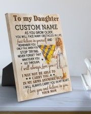 CV - DM0003 - GIFT FOR DAUGHTER FROM MOM 8x10 Easel-Back Gallery Wrapped Canvas aos-easel-back-canvas-pgw-8x10-lifestyle-front-01