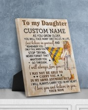 CV - DM0003 - GIFT FOR DAUGHTER FROM MOM 8x10 Easel-Back Gallery Wrapped Canvas aos-easel-back-canvas-pgw-8x10-lifestyle-front-06