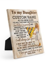 CV - DM0003 - GIFT FOR DAUGHTER FROM MOM 8x10 Easel-Back Gallery Wrapped Canvas front