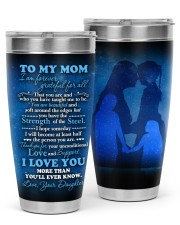 TUMBLER - MD0004 - GIFT FOR MOM FROM DAUGHTER 30oz Tumbler front