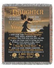 BLANKET - DD0001 - GIFT FOR DAUGHTER 50x60 - Woven Blanket tile