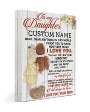 CV - DM0004 - GIFT FOR DAUGHTER FROM MOM Gallery Wrapped Canvas Prints tile