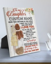 CV - DM0004 - GIFT FOR DAUGHTER FROM MOM 8x10 Easel-Back Gallery Wrapped Canvas aos-easel-back-canvas-pgw-8x10-lifestyle-front-01