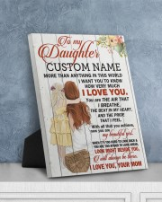 CV - DM0004 - GIFT FOR DAUGHTER FROM MOM 8x10 Easel-Back Gallery Wrapped Canvas aos-easel-back-canvas-pgw-8x10-lifestyle-front-06