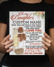 CV - DM0004 - GIFT FOR DAUGHTER FROM MOM 8x10 Easel-Back Gallery Wrapped Canvas aos-easel-back-canvas-pgw-8x10-lifestyle-front-16