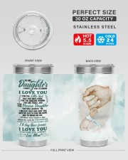 TUMBLER - DM0003 - GIFT FOR DAUGHTER FROM MOM 30oz Tumbler aos-30oz-tumbler-lifestyle-front-01
