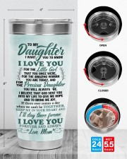TUMBLER - DM0003 - GIFT FOR DAUGHTER FROM MOM 30oz Tumbler aos-30oz-tumbler-lifestyle-front-13