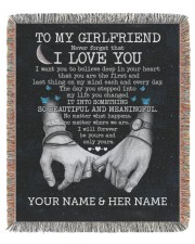 BL - GF0002A - GIFT FOR GIRLFRIEND 50x60 - Woven Blanket tile