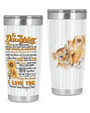 TUMBLER - DD0005 - GIFT FOR DAUGHTER FROM DAD 20oz Tumbler tile