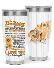 TUMBLER - DD0005 - GIFT FOR DAUGHTER FROM DAD 30oz Tumbler front