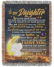 BLANKET - DM0002 - GIFT FOR DAUGHTER 60x80 - Woven Blanket tile